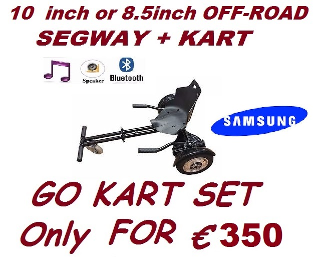 GO-KART set 10inch or HUMMER Hoverboard CE BLUETOOTH